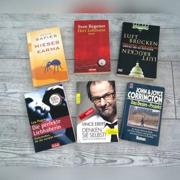 Zestaw książek niemieckojęzycznych stan idealny