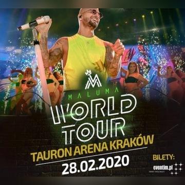 Bilety Maluma Kraków 28.02