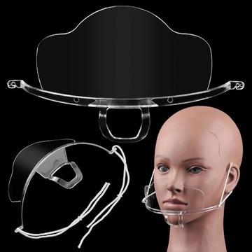 Mini przyłbica maska maseczka na usta i nos