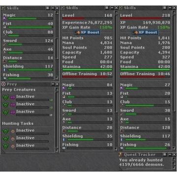 TIBIA 780+ EK Secura + Conf Key