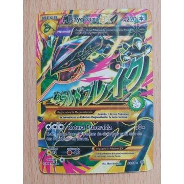 Karta pokemon rayquaza ex 98/98