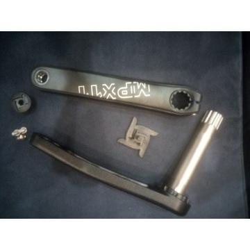 Korba rowerowa mpx 11 SRAM 3 bolt  oś 24mm shimano