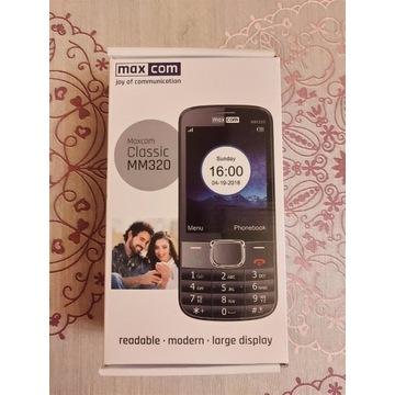 Telefon Komórkowy Maxcom MM320 - Sprawny, Zadbany