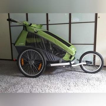 Przyczepka Croozer Kid 2 rowerowa - do biegania