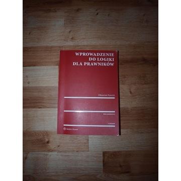 Podręcznik do logiki dla prawników - O. Nawrot
