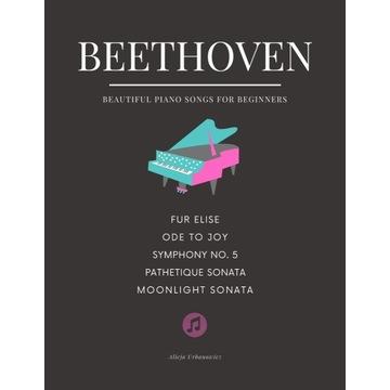 Beethoven TOP 5.  Nuty na łatwy fortepian - PDF