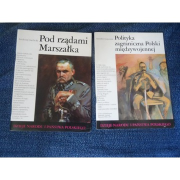 Dzieje Narodu i Państwa Polskiego dwa zeszyty.