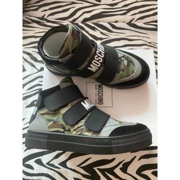 Sneakersy Moschino rozm. 37 jak nowe