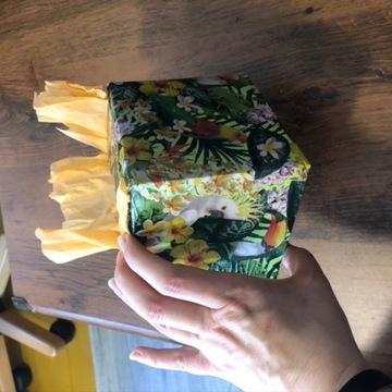 Pudełko piniata z wypełnieniem prezent wyznanie