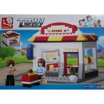 Lego Sluban TOWN Business street SKLEP