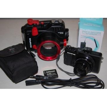 Sprzedam zestaw do fotografii podwodnej Olympus (