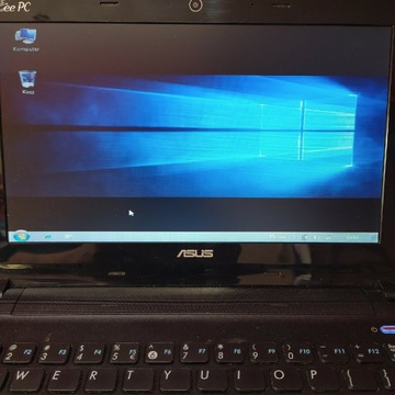 "Asus Eee PC X101 SPRAWNY,10"" Windows 7 Profesional"