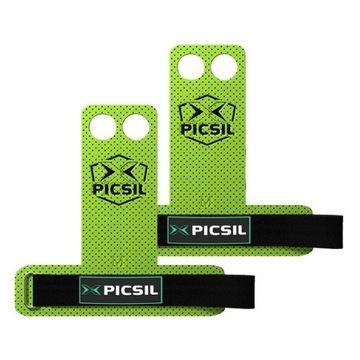 Skórki gimnastyczne Picsil Azor grips 2 limonkowe