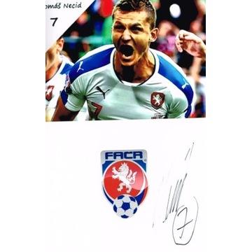 Legia Warszawa GOTTWALD & NECID autografy