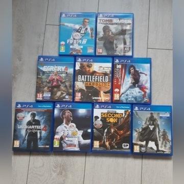 ! OKAZJA ! 9 gier na PS4