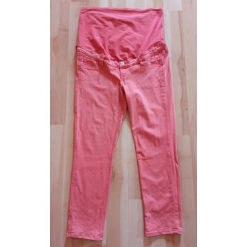 Spodnie dżinsowe Ciążowe 7/8, H&M MAMA 44 (2XL)