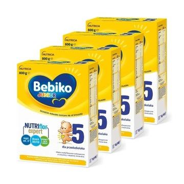 Bebiko Junior 5 z NutriFlor Expert 4x800g