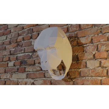Maska 3d papierowa