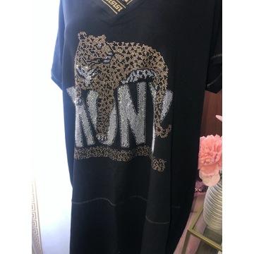 tunika plussize bawełna styl LV  Versace guess !