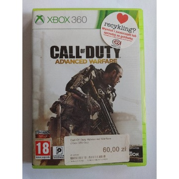 Call of Duty Advanced Warfare, pudełkowa, XBOX360