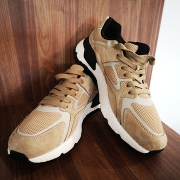 Sneakersy Staff brown MS0105