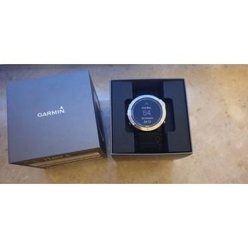Zegarek sportowy GARMIN Fenix 6 Srebrno-czarny
