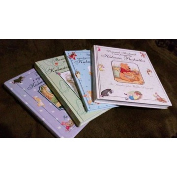 Kolekcja książek o Kubusiu Puchatku