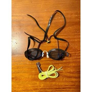 Nabaiji okularki do pływania szwedki jasne