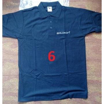 Koszulka polo ELOKON czarna (rozmiar L)