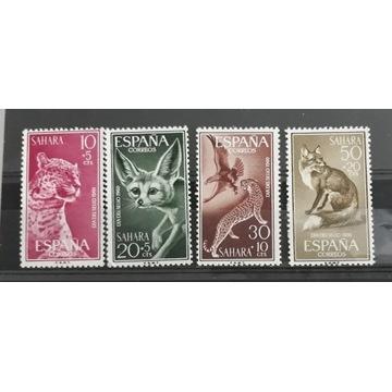 Znaczki czyste kolonii Hiszpańskich -Sahara 1960r.