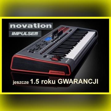 Novation Impulse 49 klawiatura MIDI klawisze