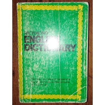 Słownik angielski Richmond english dictionary