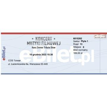 Koncert Muzyki Filmowej - Warszawa Torwar