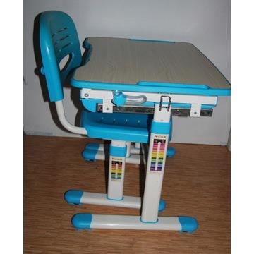 Regulowane biurko + krzesło FunDesk PICCOLINO Blue
