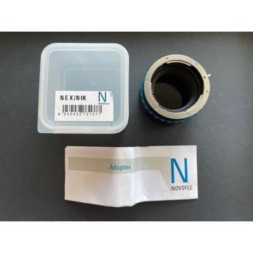 Novoflex NEX/NIK - Adapter Nikon F - Sony E
