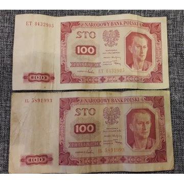 Banknoty 100 złotych 01.07.1948