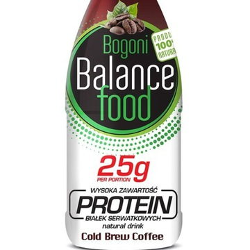 Prozdrowotny napój białkowy BBF PROTEIN kawowy