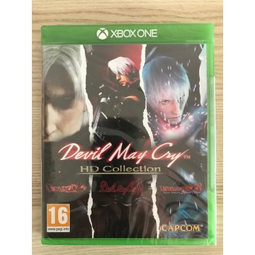 Devil May Cry HD Collection XONE Nowa FOLIA