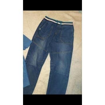 COOLCLUB SMYK jeansy  joggersy 164  jak nowe
