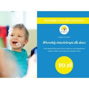 Cegiełka charytatywna o wartości 10zł
