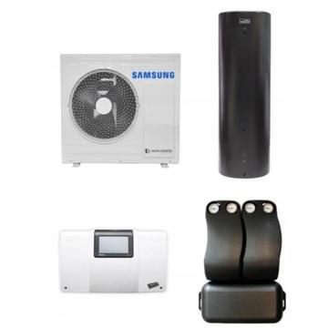 Pompa ciepła Samsung+Bufor 300+kotłownia+montaż gw