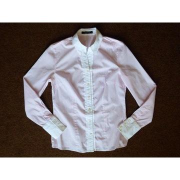 koszula Willsoor dlugi rękaw, różowo-białe paski