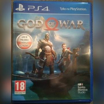 God Of War 2018 na PS4 Playstation 4 PL
