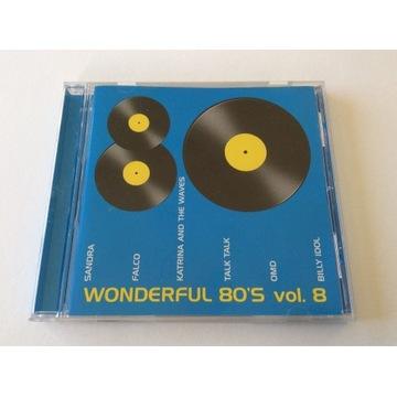Wonderful 80s vol 8 CD składanka BMG Poland 2001