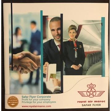 Royal Air Maroc broszura produktu