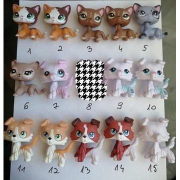 Figurki lps pet shop pop shorthair collie