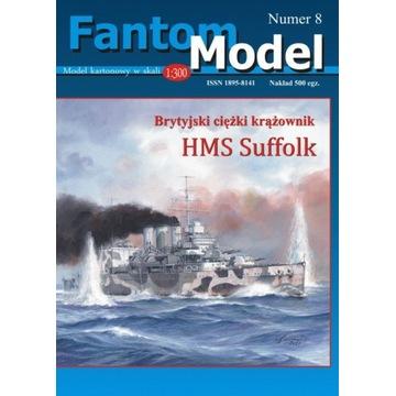 Nowość! Model kartonowy HMS Suffolk 1:300