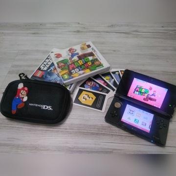 Konsola Nintendo 3Ds  czarna + gry