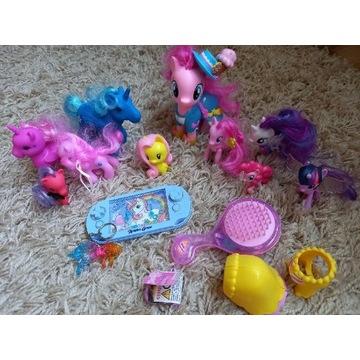 My Little Pony + unicorny + akcesoria 10 koników
