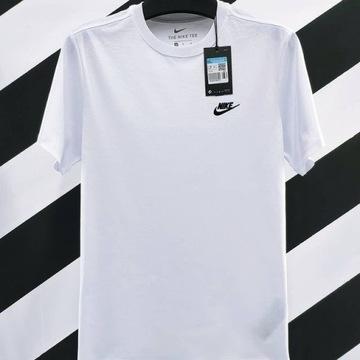 Nike TEE t-shirt klasyka biały rozmiar M